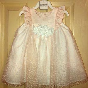CARTERS Baby Girl Dress w/ Romper